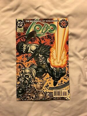 Lobo #0 ( 1993 2nd Series ) Zero Hour NM / VF ( Bagged And Boarded)