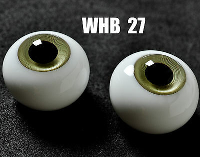 16mm Light Green with Lines Glass BJD Eyes for DOD DZ AOD Volks Reborn Doll luts