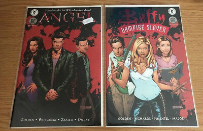Buffy the Vampire Slayer 21 Red Foil & Angel 7 Comics Dynamic Forces Numbered Ed