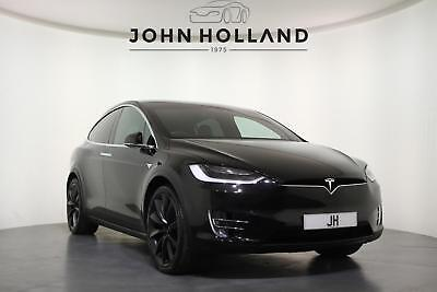2017 Tesla Model X Tesla X 100D  22inch Carbon Turbine Alloy Wheels, Six Seat In