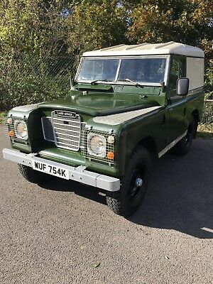 Landrover Series 3 / 88 SWB Diesel 1971 MOT / Tax Exempt
