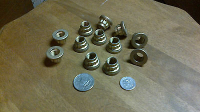 aircraft hardware 12 Point nuts 1 doz. 7/16-20 UNF Cad plate captive washer