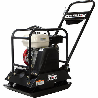 NorthStar Single-Direction Plate Compactor - With Honda GX160 Engine