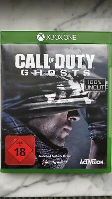Call Of Duty: Ghosts XBOX ONE / Sehr guter Zustand