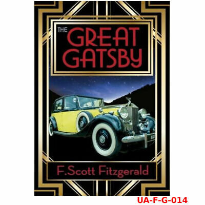The Great Gatsby book By F. Scott Fitzgerald paperback Brand New 9781853260414