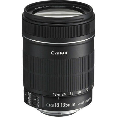 Canon EF-S 18-135mm f/3.5-5.6 IS Standard Zoom Lens - OPEN BOX
