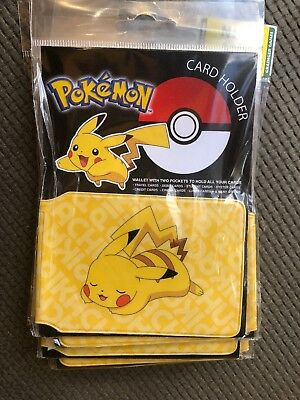 JOB LOT Card Holders X650 Pokemon/Fallout/Call Of Duty/Rick & Morty