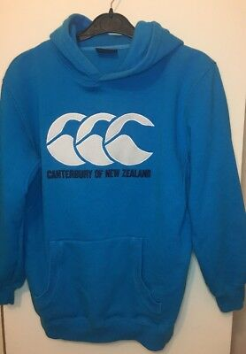 Girls Or Womens Canterbury Blue Summer Hoody
