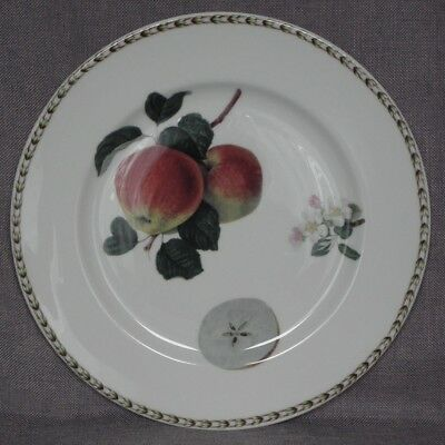 Queen's for RHS, Hookers Fruit, Charger / Large Sandwich Plate, Apple, 32cm diam