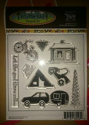 Stempel clear stamps Reise travel camping