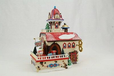 Department 56 Checking It Twice Wind-Up Toys Holiday Gift Set North Pole Series