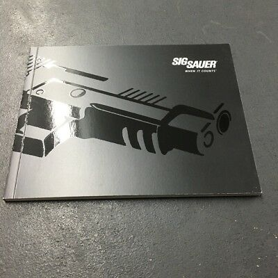 Vintage New 2010 SIG SAUER Firearms Product Catalog
