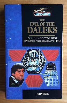 Doctor Who The Evil Of The Daleks 1st edition Target/Virgin book unread nr mint