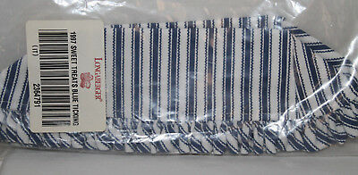 Longaberger New Fabric Liner For1997 Sweet Treats Basket In Blue