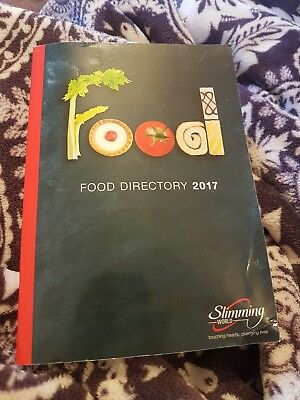 Slimming world food directory 2017