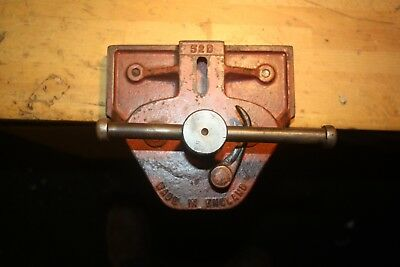 Vintage collectable record 52 D quick release carpenters vice England