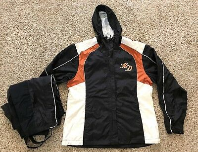 Women Harley Davidson Rain Suite L Slim Design with Carry Bag