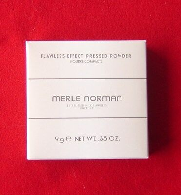 Merle Norman Flawless Effect Pressed Powder Full Size Color Nearly Nude