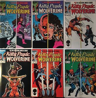 Kitty Pride and Wolverine complete series issues 1-6