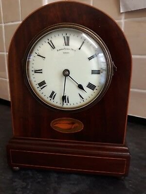 Antique English Eureka Clock Mantel Clock (untested)