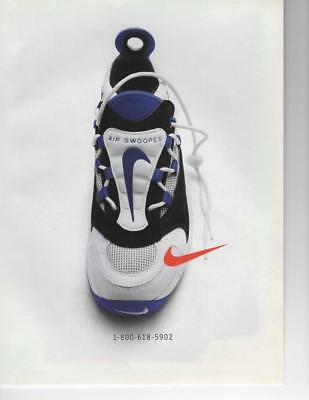 Nike Air Swoops Shoe Print Ad Ready To Be Framed Or Gift Idea! 1-800-618-5902
