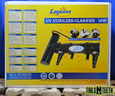 Laguna UV Sterilizer / Clarifier 14w - For Ponds Up To 1000 Gallons PT1671