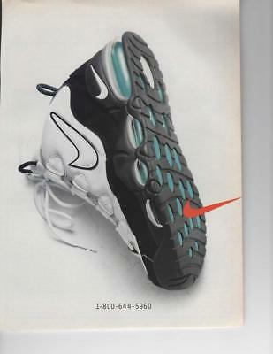 Vintage Print Ad For Nike Shoe Ready To Be Framed Or Gift Idea! 1-800-644-5960