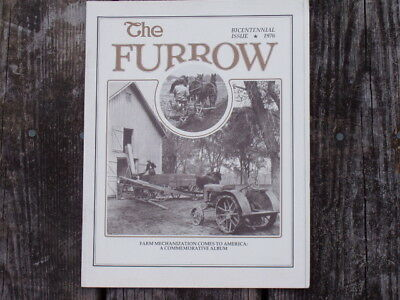 John Deere Furrow  Bicentennial Issue  1976  Magazine