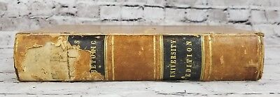 Lectures on Rhetoric and Belles Lettres by Hugh Blair (Antique, Leather, 1857)