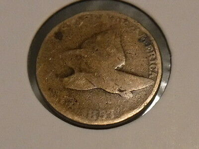1857 Flying Eagle Cent ( well used but will make a good filler)