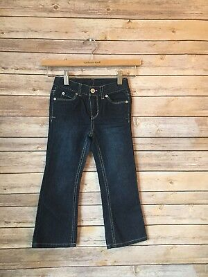 Cherokee Jeans Toddler Girls Size 4T  Adjustable Waist NEW HBZ3