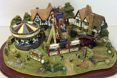 """Lilliput Lane L2617 """"All The Fun OfThe Fair"""" New, in excellent condition w/deed"""
