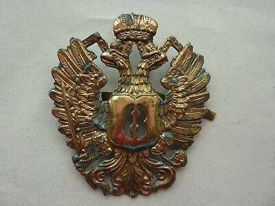 """Russian """"double Eagle"""" Brass Badge (1994 ?)"""