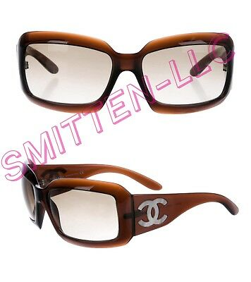 22614ce298e48 AUTHENTIC CHANEL MOTHER of Pearl Sunglasses Pink Square 5076 C671 11 ...