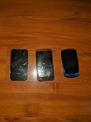 HTC DROID Incredible 2 , LG Viper, Samsung Brightside