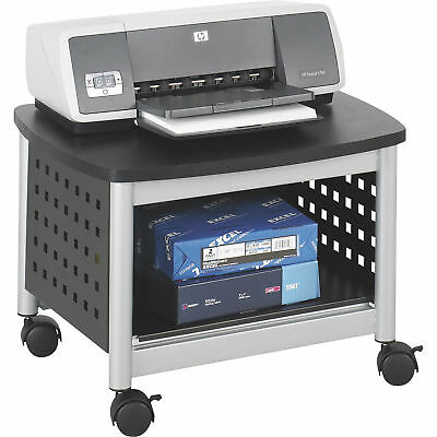 Mayline Safco Scoot Underdesk Printer Stand 20-1/4inWx16-1/2inDx14-1/2inH-Black