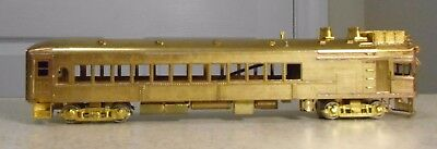 Gem Models Ho Scale Unpainted Brass Ma & Pa Kt-101 Gas-Electric Powered Trolley