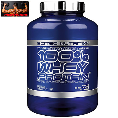 SCITEC NUTRITION 100% Whey Protein 2350 gr 2,35 kg Proteine Concentrate