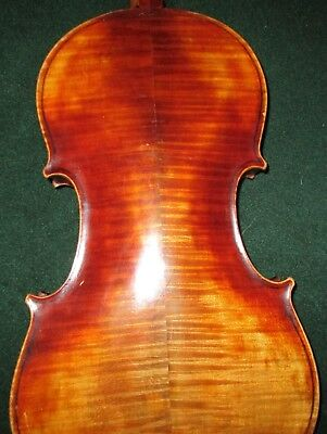 Old Naples Italian Made Export 1930 Vintage 4/4 Violin Ready to set up!