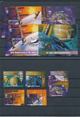39199/ UNO NY , Wien, Genf ** MNH Lot / Mixture Weltraum Space mit Blocks