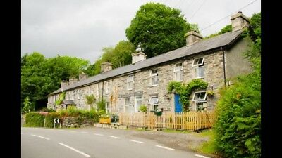 Holiday Cottage North Wales 13th October 2018 until 20th October 2018