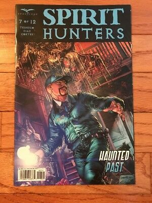 Zenescope Comic SPIRIT HUNTERS #3 Cover D VF Vault 35