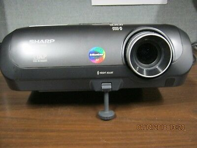 NICE Sharp  PG-310X DLP Multimedia Projector  LOW LAMP HOURS  Unit 1