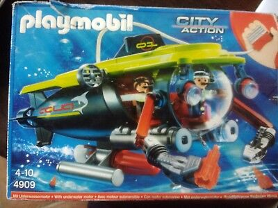 PLAYMOBIL U-Boot City Action 4909