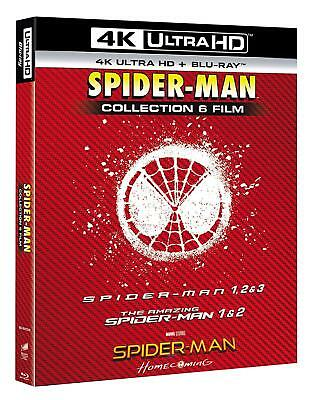 SPIDER-MAN Collection 6 FILM Boxset 01 - 06 (12 BLU-RAY 4K ULTRA HD + BLU-RAY)