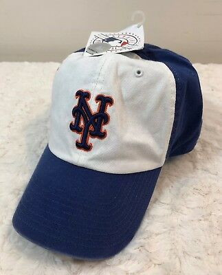New York Mets NY MLB Major League Blue White Baseball Hat Cap Fitted Size Large