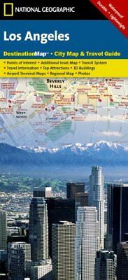 Los Angeles Destination City Maps by National Geographic Maps 9781597750929