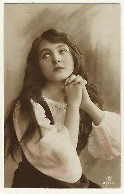 Portrait Of The Beautiful German Silent Film Actress: Ally Kolberg
