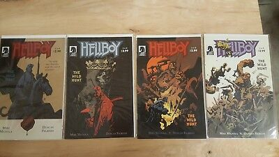 Hellboy The Wild Hunt Complete Set 1-8 NM