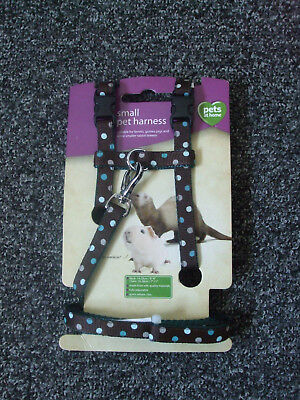 Small pet harness for ferrets, guinea pigs etc. new